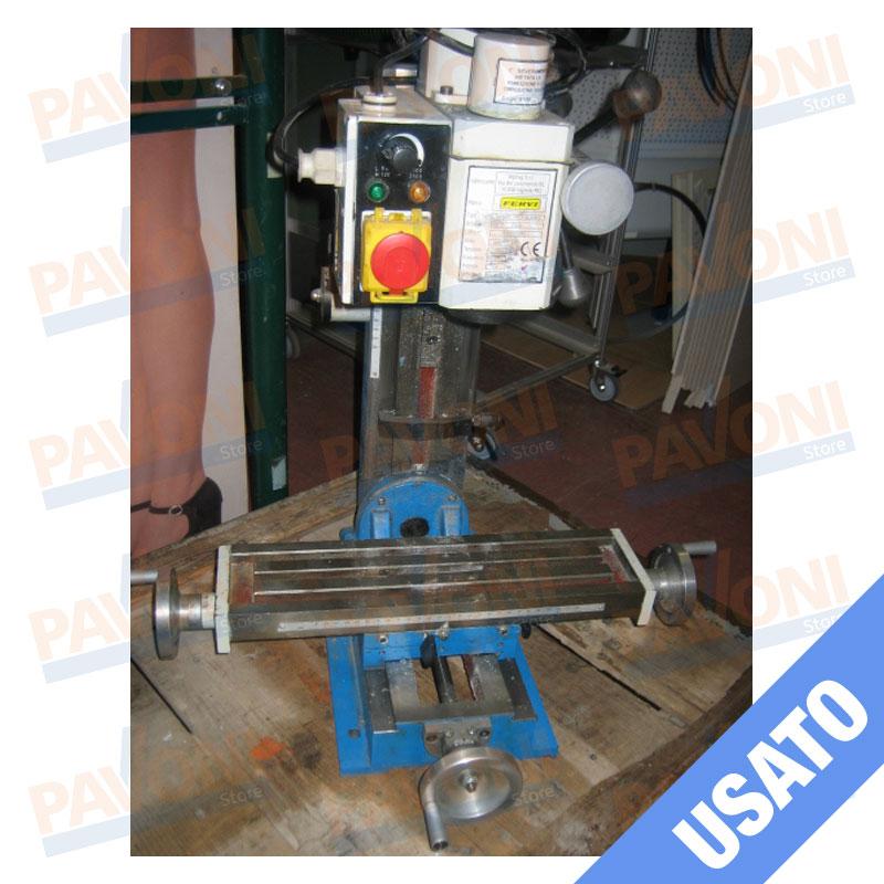 Macchine fresa da banco fervi art t058 for Banco fresa bosch